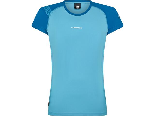La Sportiva Move T-Shirt Femme, pacific blue/neptune